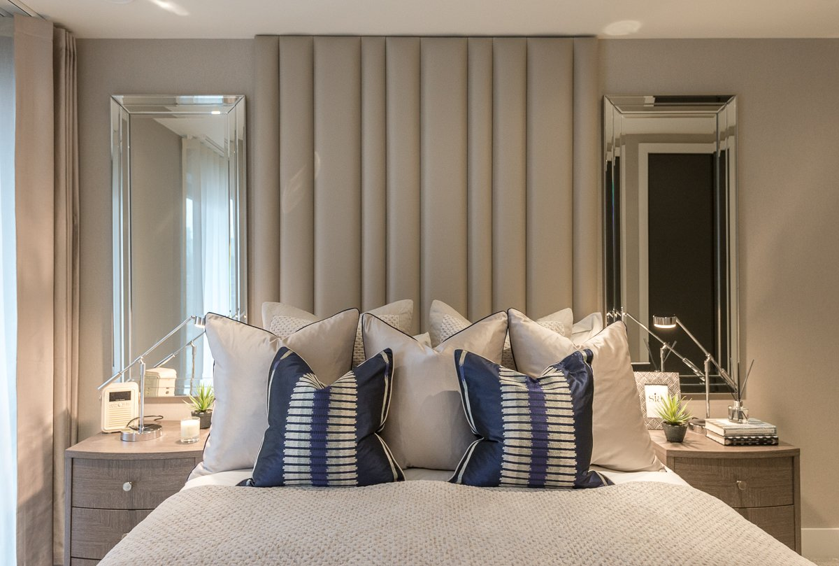 "InStyle Direct on Twitter: ""Thinking of a feature wall in your bedroom ? Why not make a statement with your headboard instead ? #isdbedroomdecor #isdshowflat #isdtailormadepackage #isdhomeownersrange #bedroomdecorideas #bedroomdecorinspo #developer ..."