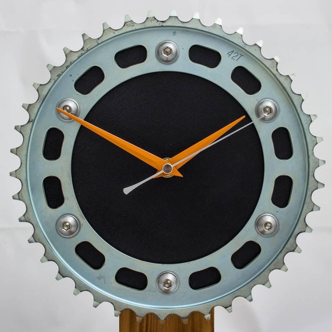 motorcycle sprocket wall clock