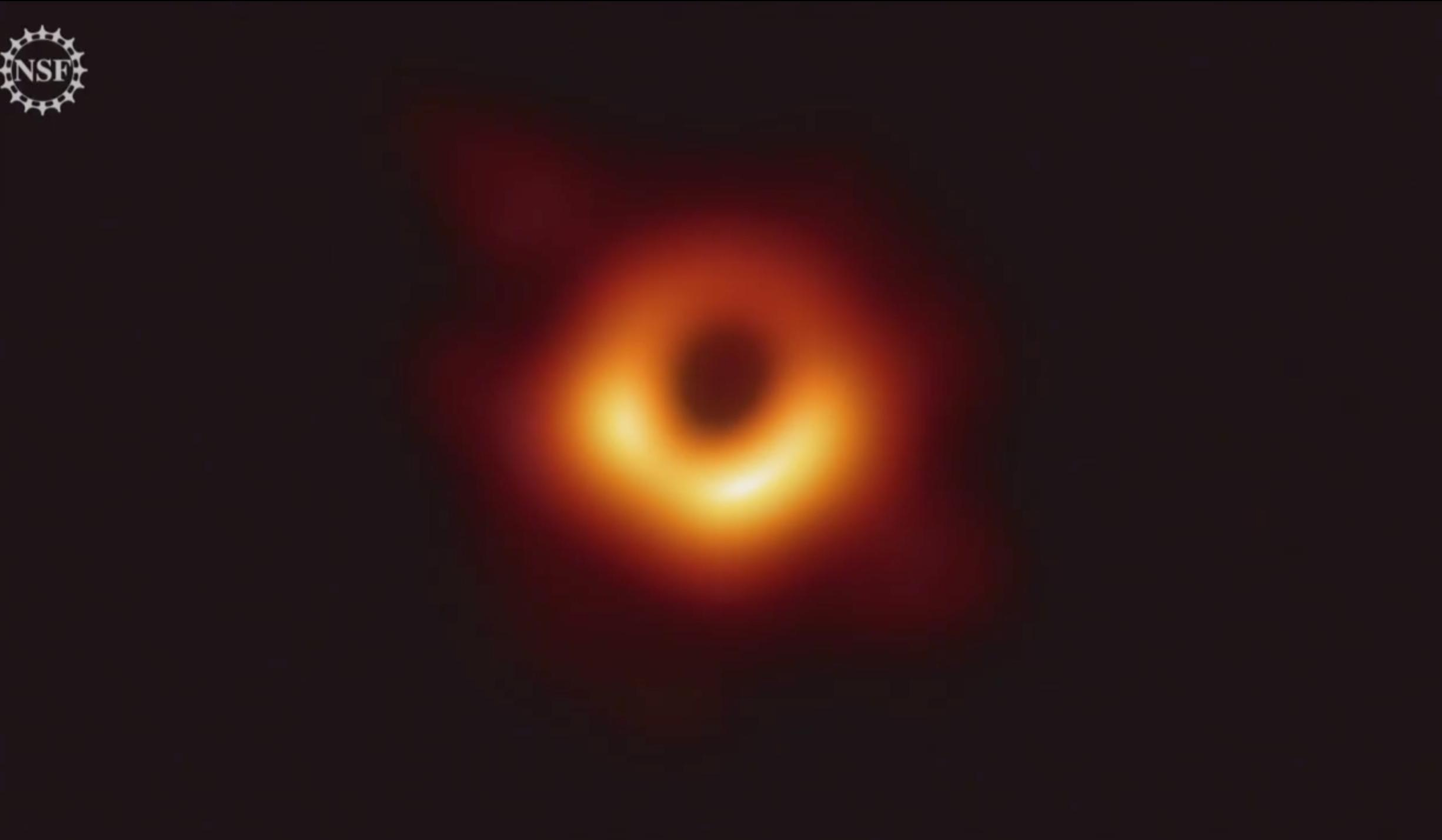 Сверхмассивная чёрная дыра галактики М87