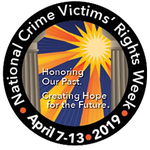 We stand with you, friends. 💗🏡  April 7–13 is National Crime Victims' Rights Week, a time to celebrate progress, raise awareness of victims' rights and services, and stand with those whose lives have been forever altered.