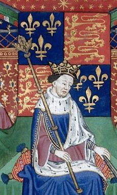 Henry VI in BL MS Royal 15 E VI