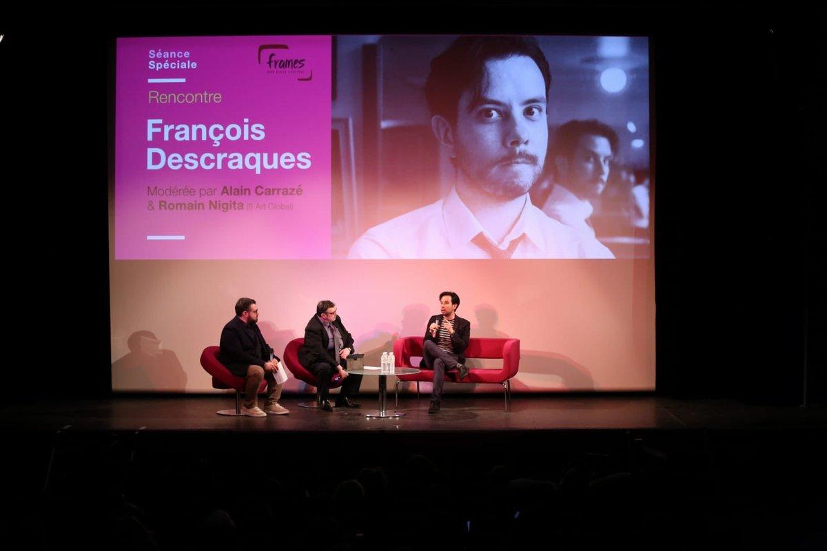 [Article] Masterclass avec François Descraques au Festival International des Séries de Cannes D3y3E7AWwAIEmek