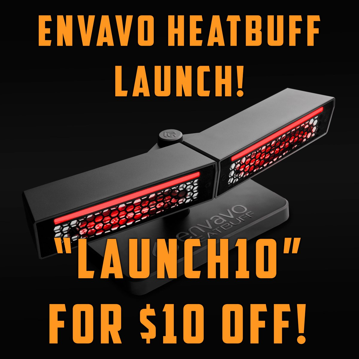 """🔥 It is happening! Today is our official launch day of the Envavo Heatbuff! It has been a long and tough journey, and we thank all of our followers for helping us grow! We are going to have a """"launch discount"""" the next 24 hours. Thank you all! 🏆 #NoMoreColdHands #EnvavoHeatbuff https://t.co/FVKQsw8jQJ"""