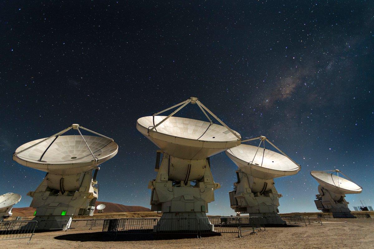 Resultado de imagen de VERTIGO y ALMA en Atacama