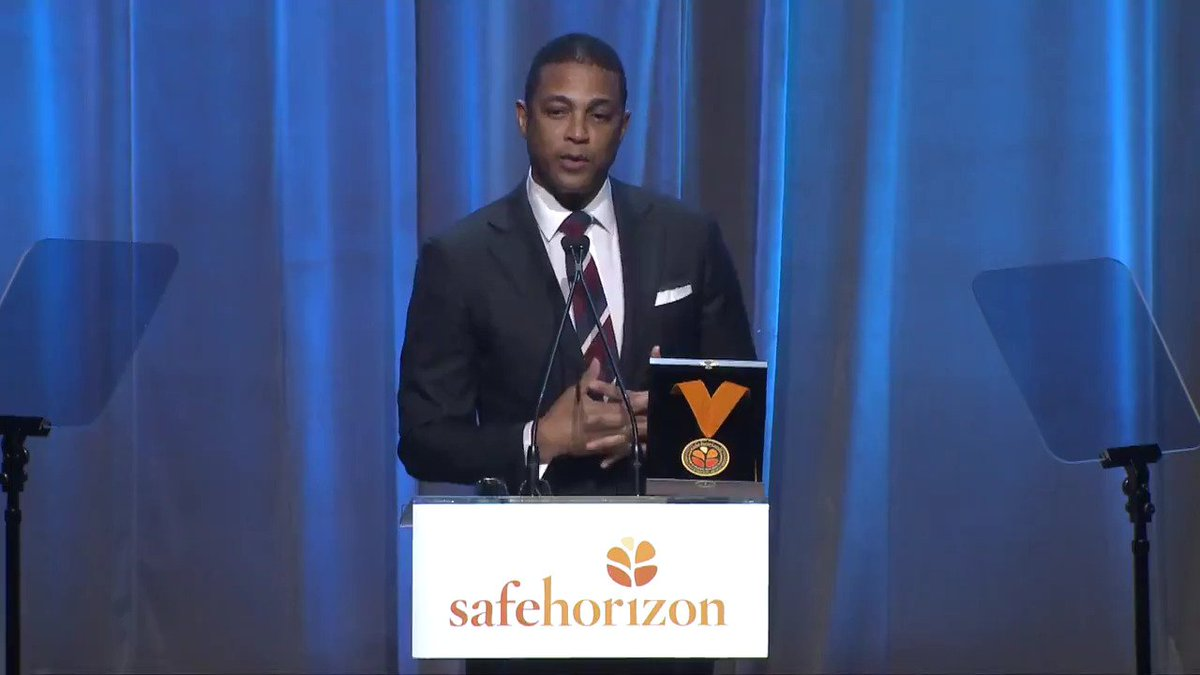See highlights from @DonLemons speech at last nights @SafeHorizon Champion Awards. You are a voice for many, Don — thank you for using your platform to help survivors everywhere. / @tamronhall @sunny @Alyssa_Milano @PolenbergM @andersoncooper /