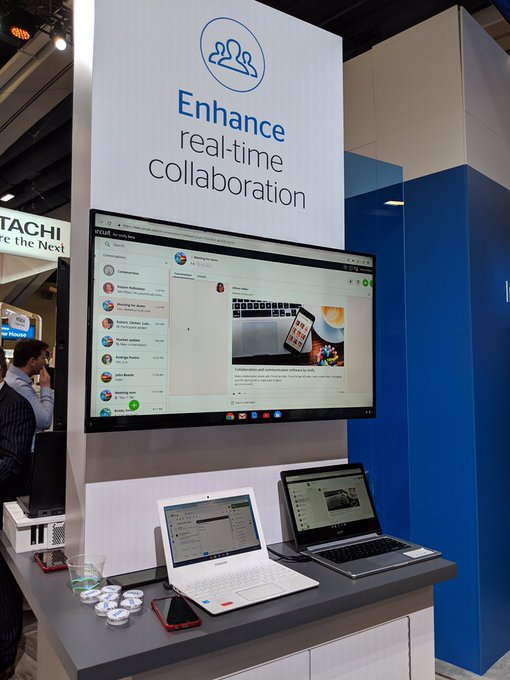 Join us at booth S1735 #GoogleNext19!  We are demoing our G Suite integration with...