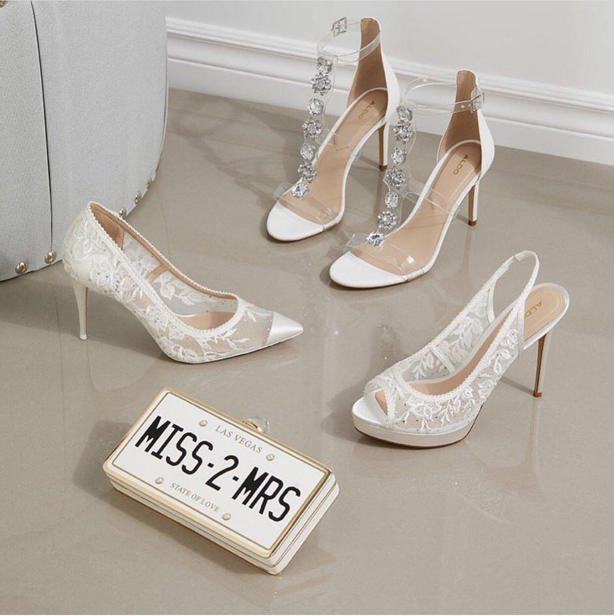 a232c46690f3 Make a stylish entry at your wedding in gorgeous bridal footwear! Swipe to  see more! @Aprajitatoor #christianlouboutin #jimmychoo #aprajitatoor #aldo # shoes ...