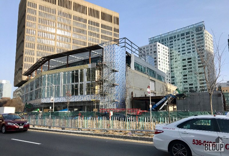 McSal in Kendall Square, Cambridge with @ElkusManfredi and @JMAConstruction