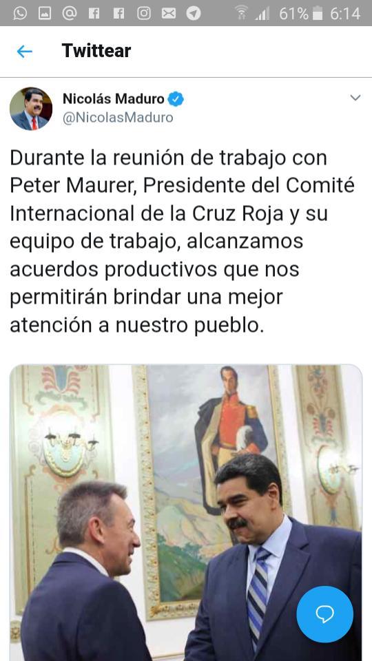 "Maduro: ""¡El Imperialismo quiere matarme!"" D3yQPR-XsAAAGSc"