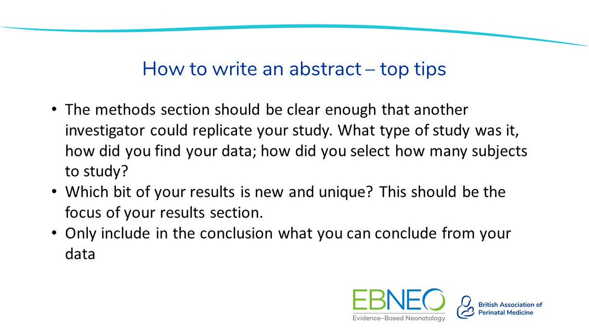 Have you submitted an abstract for #bapm2019 #ebneo2019 yet? Visit the website for full details and a link to our 'How to Write an Abstract' guide. Deadline is 31st May. @EBNEO https://www.bapm.org/abstracts