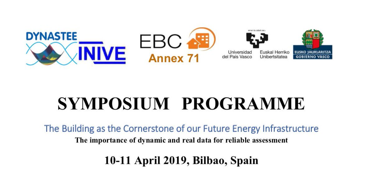 "Day3:ANNEX 71 Expert Meeting- @IEA_EBC @IEA @EU_BUILDUP has finished this morning and we open the Sypmposium:""The Buildinfs as the Cornerstone of our Future Energy Infrastructure"" at @upvehu in #Bilbao @DNSTEE @Irekia @H2020E @EU_Commission @AT_LCCE – at Bizkaia Aretoa EHU-UPV"