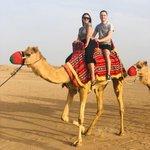 Image for the Tweet beginning: Beloved tourists enjoying camel ride