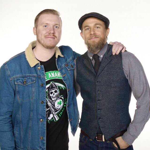 Happy Birthday Charlie Hunnam.. one of my favourite meets to date. Genuinely a good down too earth chap.