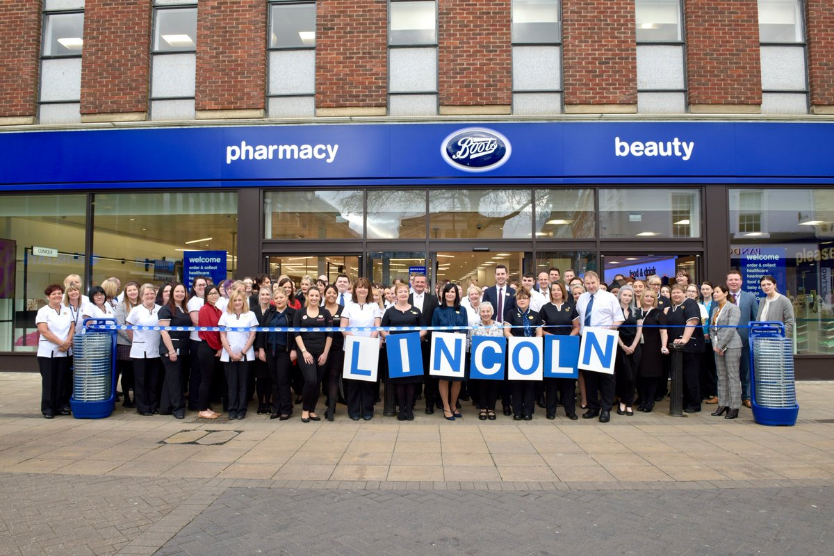 589dba106a28 The brand new  Lincoln Boots store has opened today! A huge choice of health