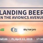 Image for the Tweet beginning: Landing Beer in the Avionics