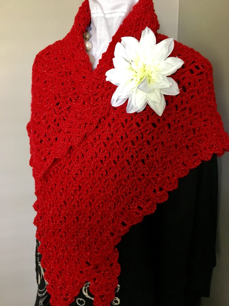 http:// ChestnutCrochetShop.etsy.com  &nbsp;   Excited to share this from my #etsy shop: Metallic Red Crochet Mini Wrap, Red Metallic Crochet Scarf, Metallic Red Scarf, Mothers Day Gift, Prom Wrap,  https:// etsy.me/2UxwEhP  &nbsp;   #accessories #shawl #red #valentinesday #wedding #MothersDayGift<br>http://pic.twitter.com/dgPgJoOF1y