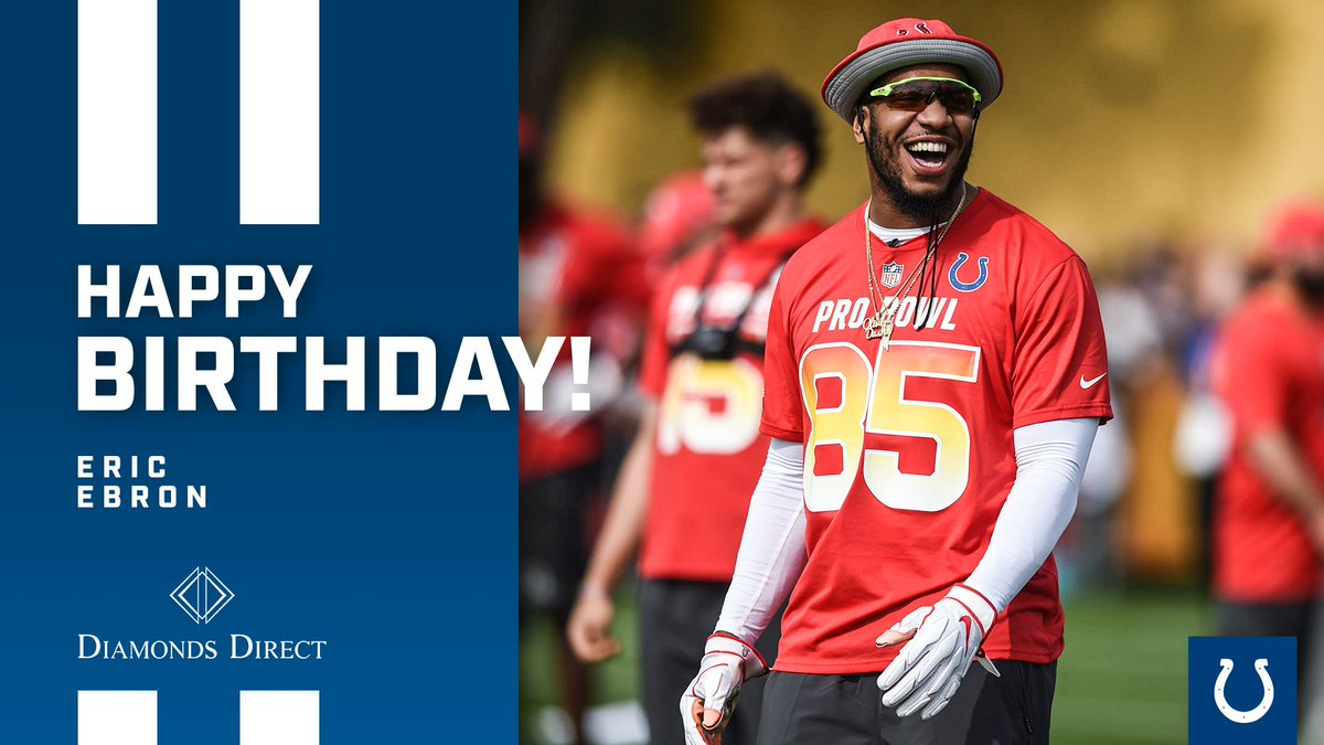Happy birthday, @Ebron85!