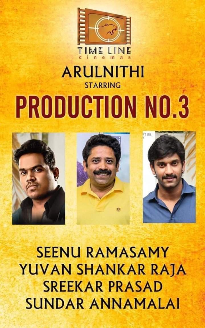 My Hero #Arulnithi Anna  Next Project Started🔥 @arulnithitamil 🙏💐💐💐