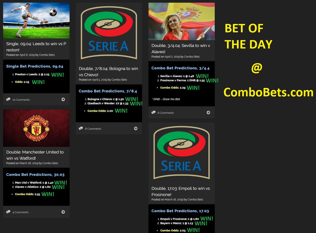 bet of the day results