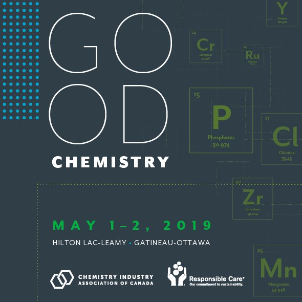 Join @MarceloRochaLu1 of @BASFCanada, Dave Andrew, VP Sustainability, @exxonmobil and more for an insightful discussion on product stewardship and the #CircularEconomy at Good Chemistry 2019, our #ResponsibleCare conference. See the full agenda here https://bit.ly/2FhUTbq
