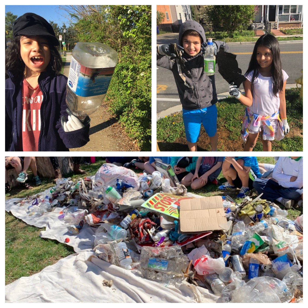 Today we conducted our field work by picking up trash in our community. What would these artifacts say about our civilization to generations of the future? <a target='_blank' href='http://twitter.com/CampbellAPS'>@CampbellAPS</a> <a target='_blank' href='http://twitter.com/ELeducation'>@ELeducation</a> <a target='_blank' href='https://t.co/ua4PWvkmlV'>https://t.co/ua4PWvkmlV</a>