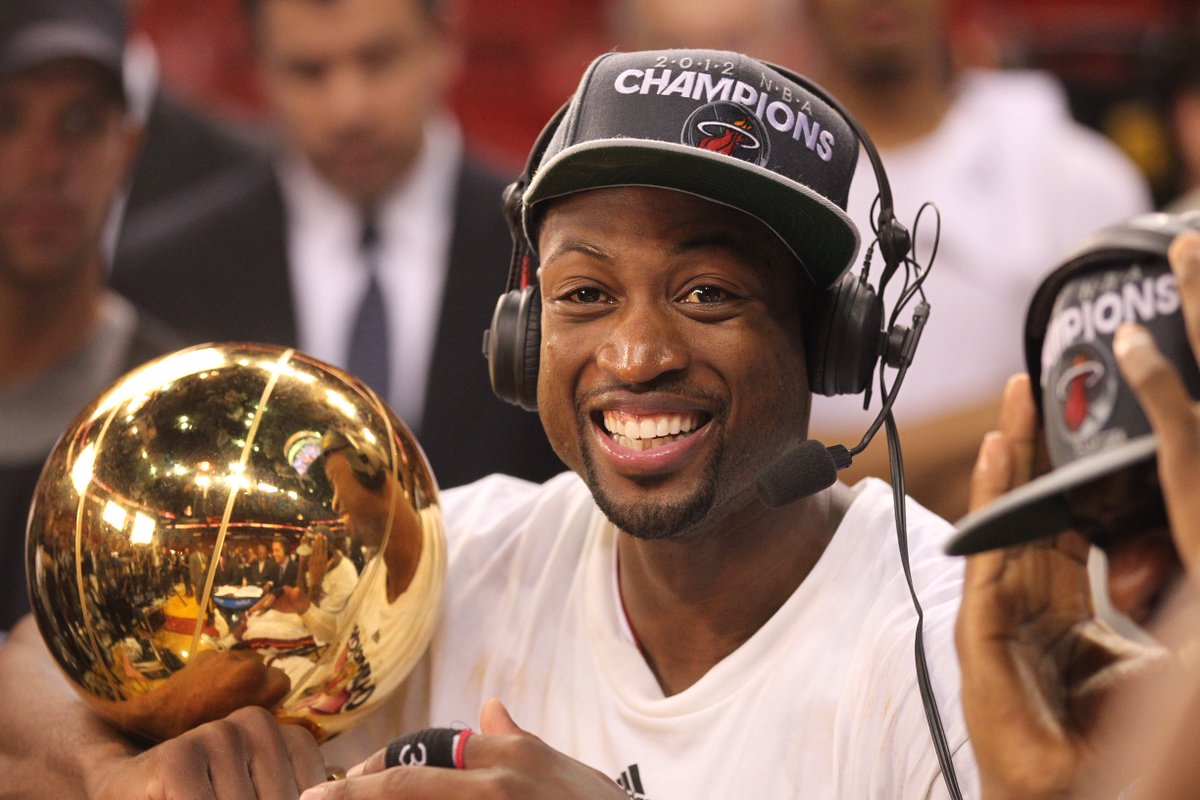 He was a special player, someone who played much bigger than his size and so clutch, never afraid to take or make a big shot. Most of all, @DwyaneWade was a champion for our game and I know even better things will come his way in retirement.