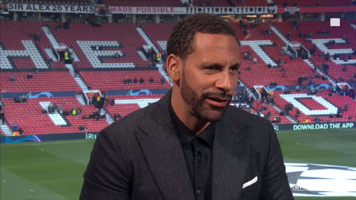 """""""I gambled on Xavi not being able to beat me at the front post!""""  @rioferdy5 explains how Messi managed to rise above him for THAT goal in the 2009 final...  After being hung out to dry by @GaryLineker 😂"""