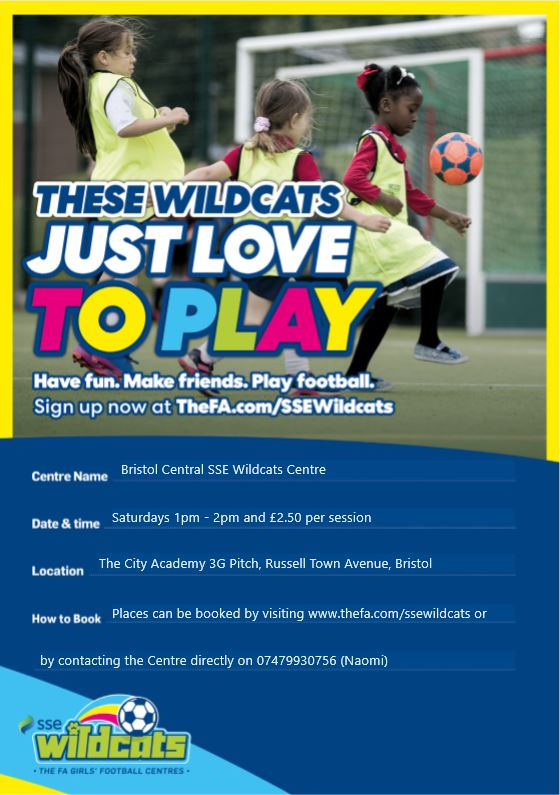 Do you know any girls aged between five and 11 who would love the chance to get involved in football?