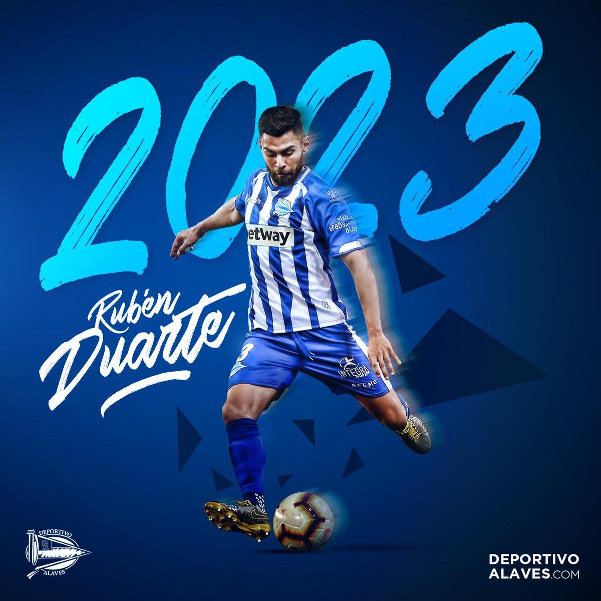 Duarte, renovado con el Alavés.