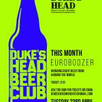 Image for the Tweet beginning: The Duke's Head Beer Club
