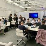 Image for the Tweet beginning: #Designforlife. 2019 Hackathon proceeding at