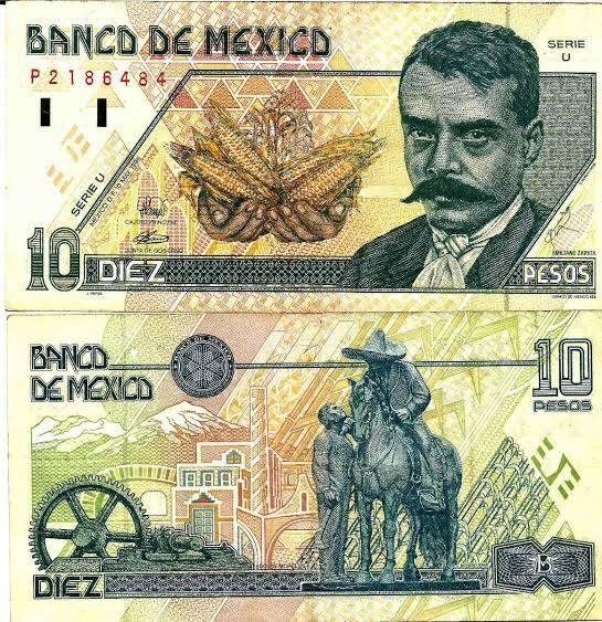En el aniversario luctuoso de Emiliano Zapata, never forget que con uno de estos comprabas una coca y unos cheetos y todavía te daban cambio.