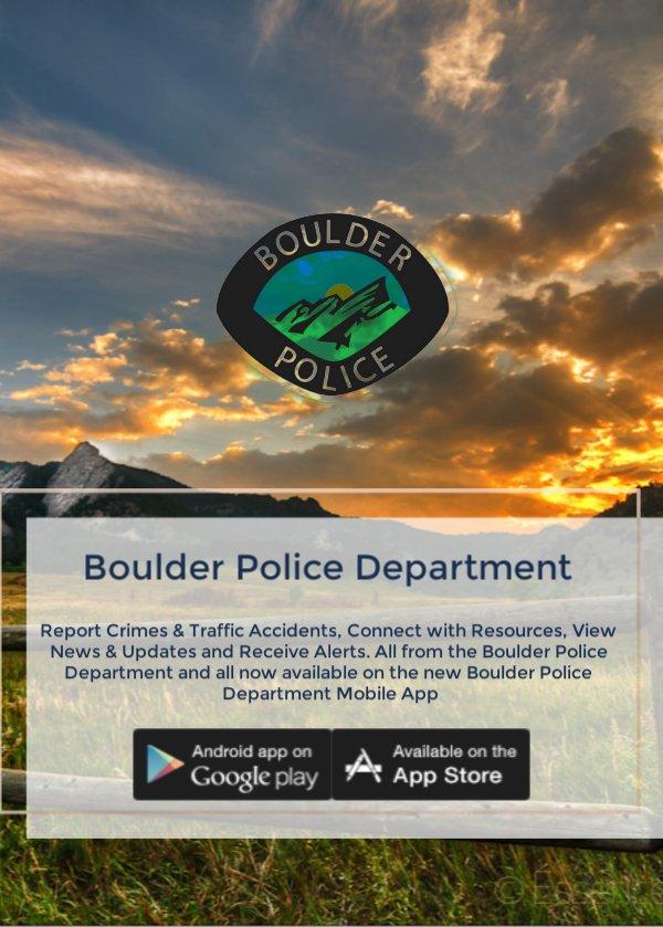 Boulder Police Dept  on Twitter: