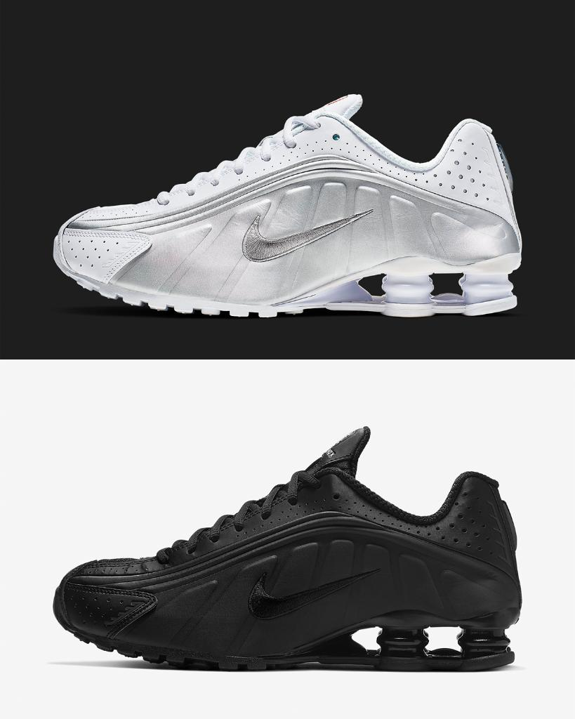 hot sales a47d9 b8da8 boing wmns nike shox r4 white black launching 4 13 in store and online
