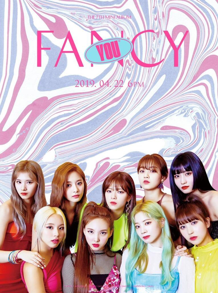 ".@JYPETWICE have unveiled the tracklist to their upcoming 7th mini studio album, #FANCYYOU coming out on Monday, April 22nd. The album includes a song titled ""Girls Like Us"" co-written by @Charli_XCX & composed by @MNEK."
