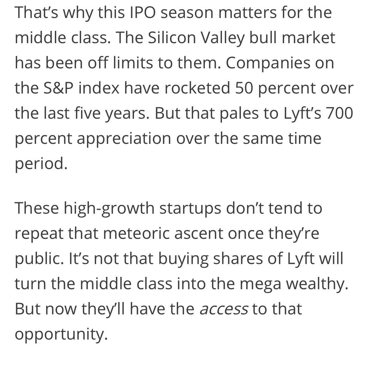 I Couldnt Help It These Guys Reminded >> A Thread Written By Edzitron The Lyft Ipo Kinda Reminds Me Of How