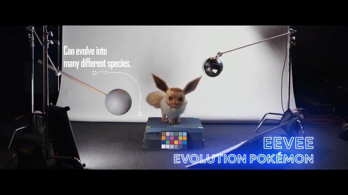 Los distintos pokémon de Detective Pikachu se presentan en un video