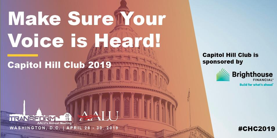 Make your voice heard on Capitol Hill! #CHC2019 is a unique opportunity to share your story with elected officials & advocate for the issues that matter most to you. Register here => https://registration.aalu.org/page/1377401/registration… #TRANSFORM2019   Thank you @BrighthouseFin for helping make it happen!