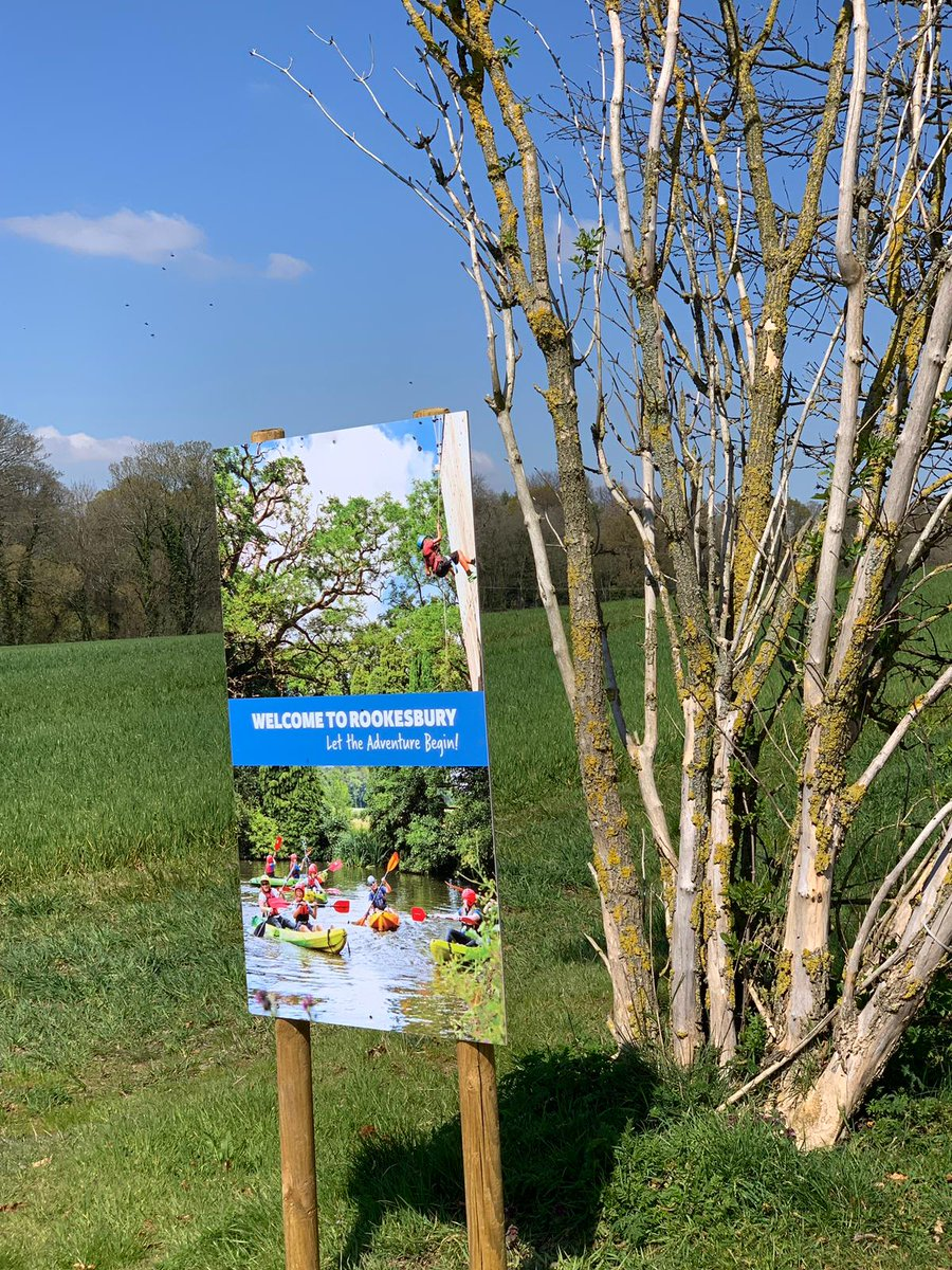 New JCA signs at Rookesbury Park 😁! @Rookesbury   #sun #hampshire #JCA https://t.co/8rvG9T9DZ2