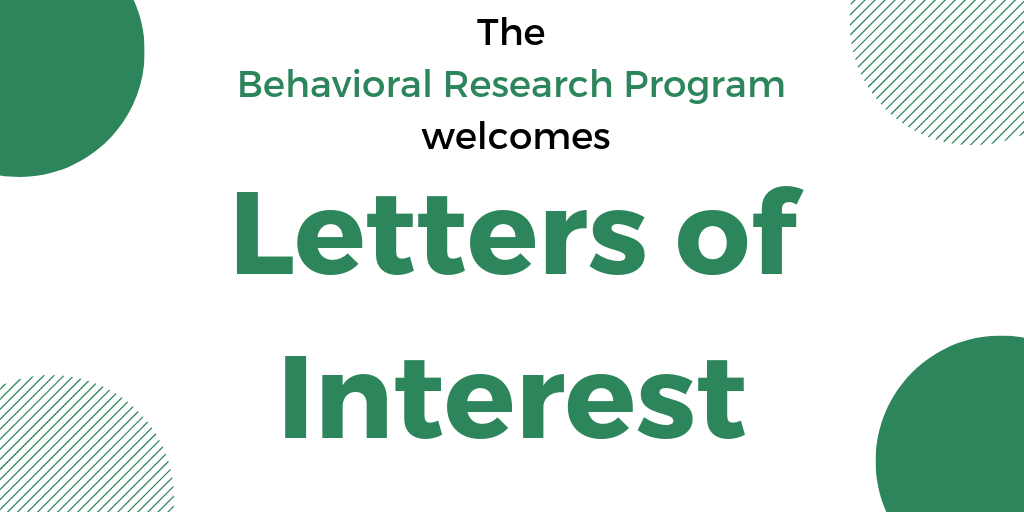 BRP Program Directors support external researchers, develop funding opportunities, conduct and share their own studies, and much more. Interested in being one in our #Tobacco Control Research Branch? Submit a letter of interest by April 26. Details: https://go.usa.gov/xmabn