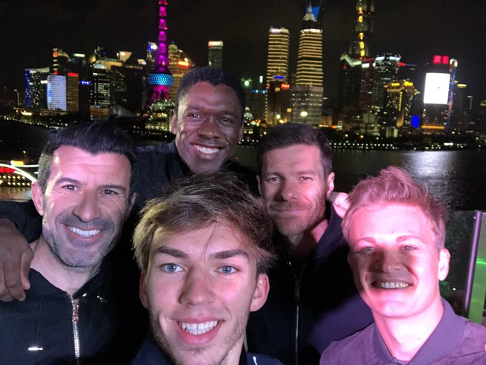 Cool night playing Chinese football with these legends! 👑 Focus on this weekend now. Round 3!