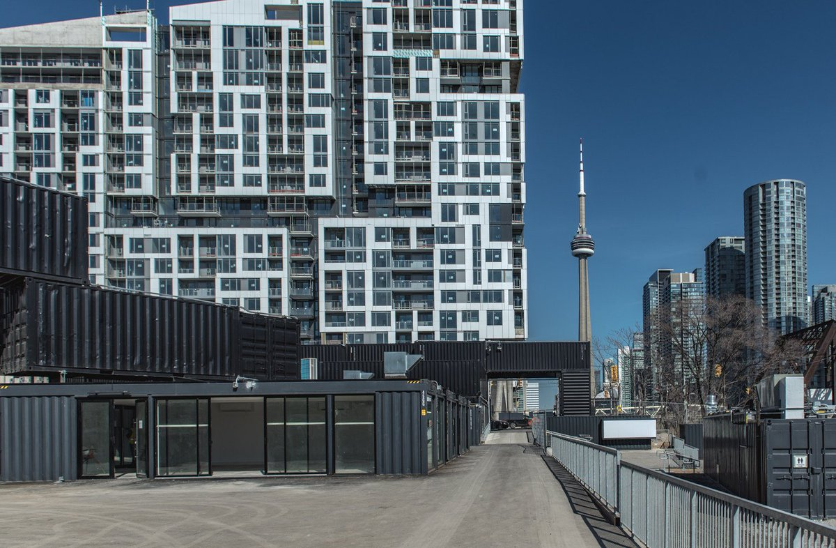 LGA designs Canada&#39;s largest shipping container retail market. (Psst - Civil engineering was completed by our Toronto team.) #Collaboration #CivilEngineering  https://www. canadianarchitect.com/lga-designs-ca nadas-largest-shipping-container-retail-market/ &nbsp; …  Via: @CdnArch Photo via: Stackt/@CNWNews<br>http://pic.twitter.com/8Bw8D1cyxC