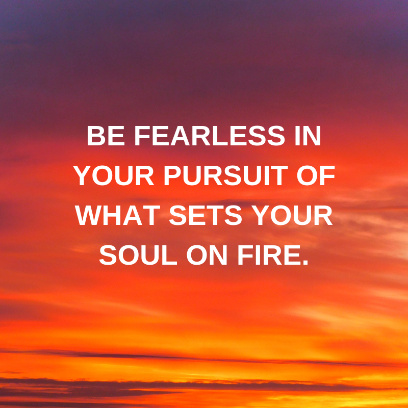 Be fearless. #WednesdayWisdom from @voicesofyouth