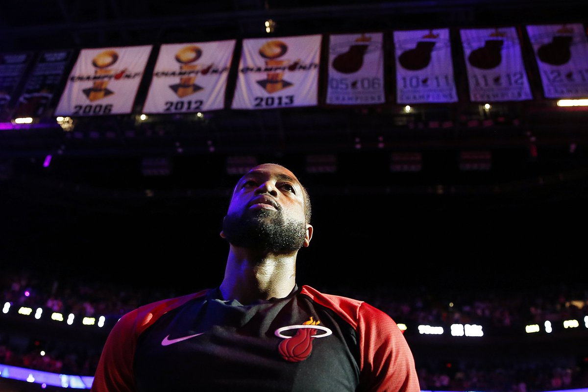Another spectacular career comes to an end with the great @DwyaneWade hanging it up. DWade reminded me a little of MJ in terms of his overall efficiency and effectiveness on both ends of the court.