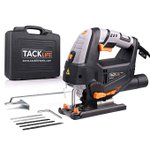 Image for the Tweet beginning: TACKLIFE 800W Jigsaw with 6