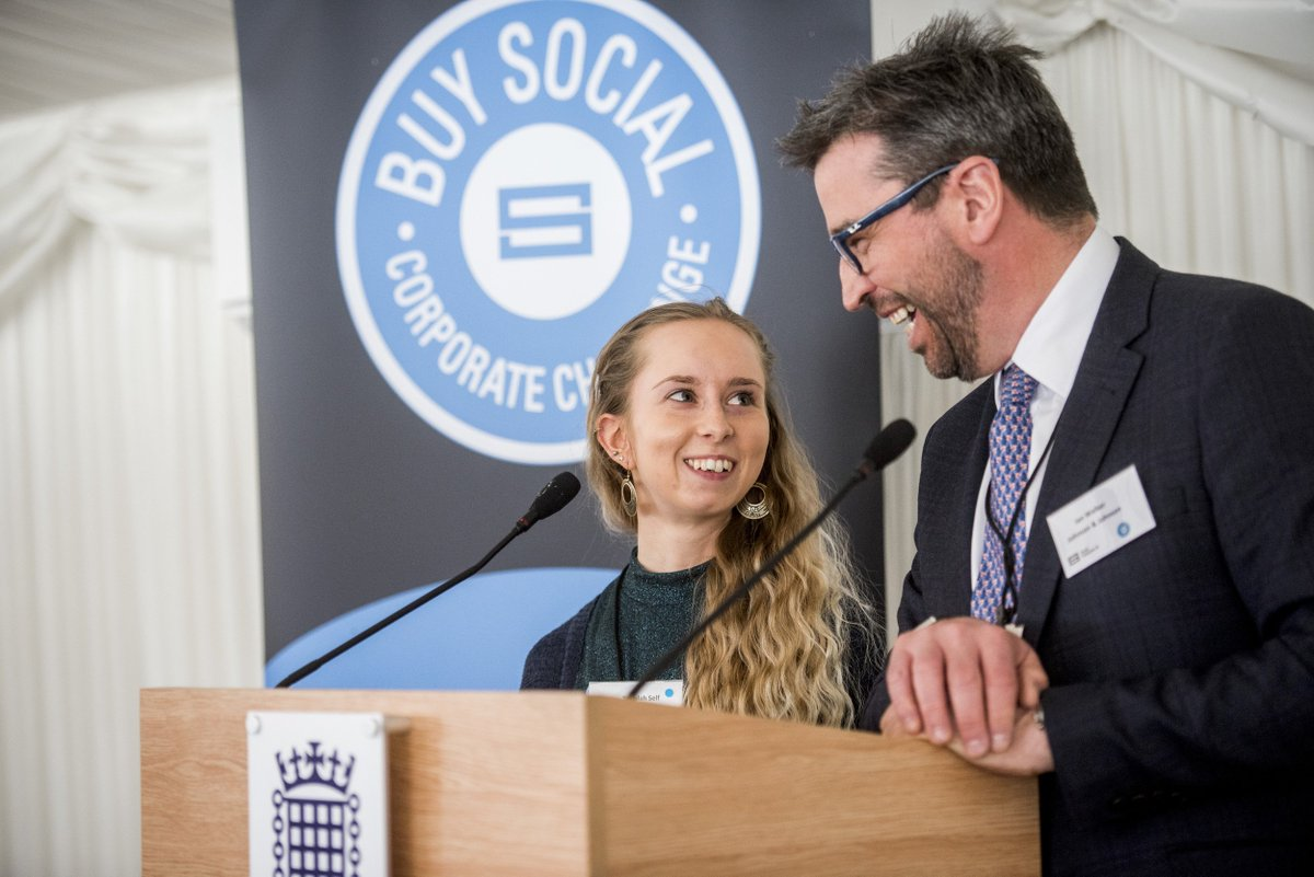 5 new companies have joined the #BuySocial Corporate Challenge, inching it closer to the target of £1bn spend via #SocEnt. The ambition is vast - but entirely within reach, argues @SocialEnt_UK: https://www.pioneerspost.com/news-views/20190425/why-convincing-corporates-buy-social-not-huge-challenge… @Lendleaseuk @ENGIEgroup @AskNationwide @SAP @WillmottDixon