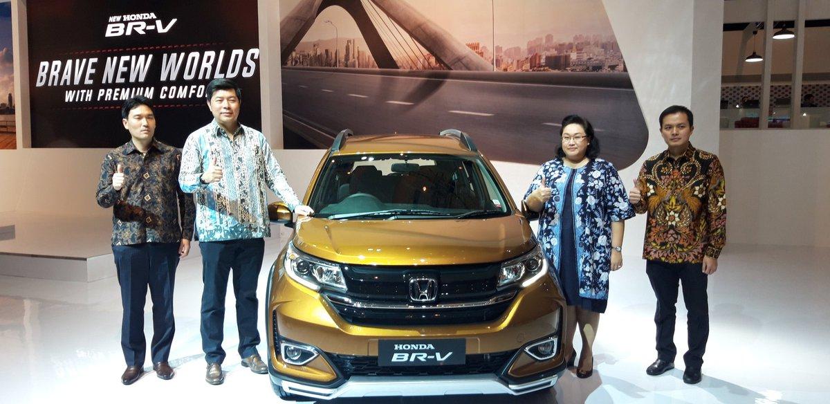 Honda Indonesia On Twitter New Honda Br V Diluncurkan Pada Ajang