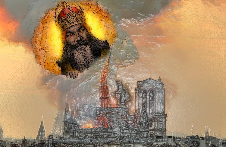 Kiedy Boga redukuje się do podpalacza.W ubiegłą środę dowiedzieliśmy się, że Shlomo Aviner, prominentny syjonistyczny rabin i lider Yeshiva zasugerował, że pożar który zniszczył Notre-Dame mógł być boską karą za spalenie żydowskich rękopisów w 1242. wolna-polska.pl/wiadomosci/kie…