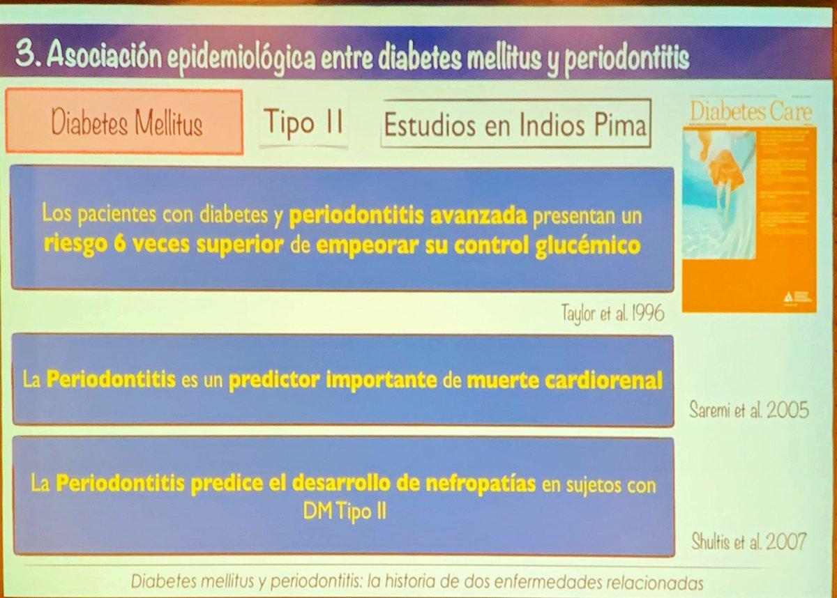 periodontitis y riesgo de diabetes mellitus
