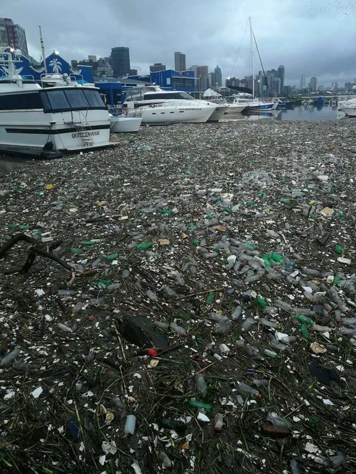 For every idiot who thinks that throwing their litter on the ground doesn't matter, enjoy these pictures of Durban harbour